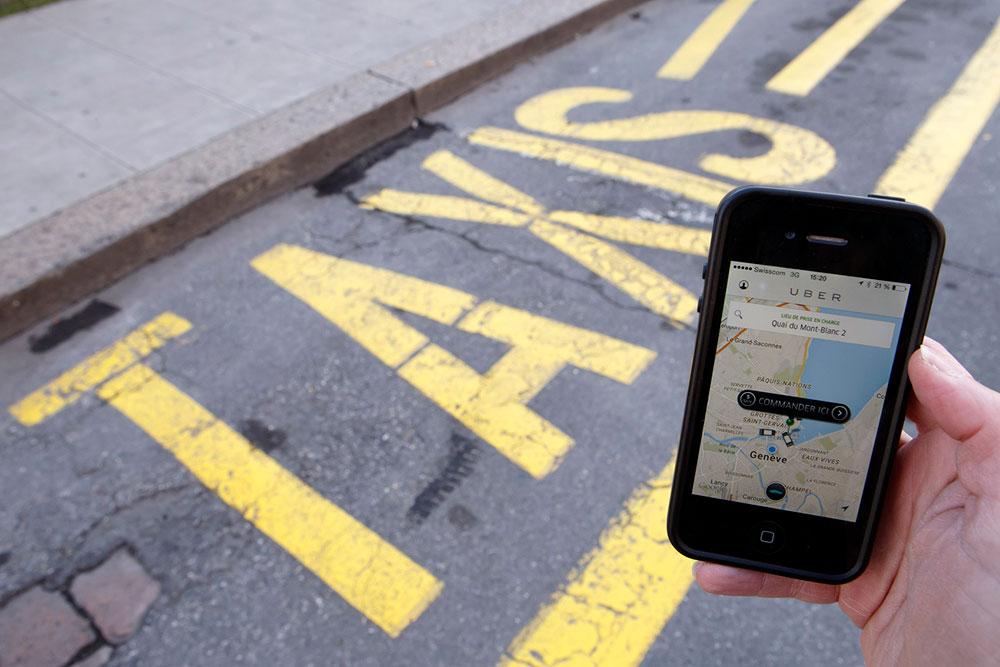 Uber Ou Taxis Qui Est Le Meilleur Notre Grand Test Letemps Ch
