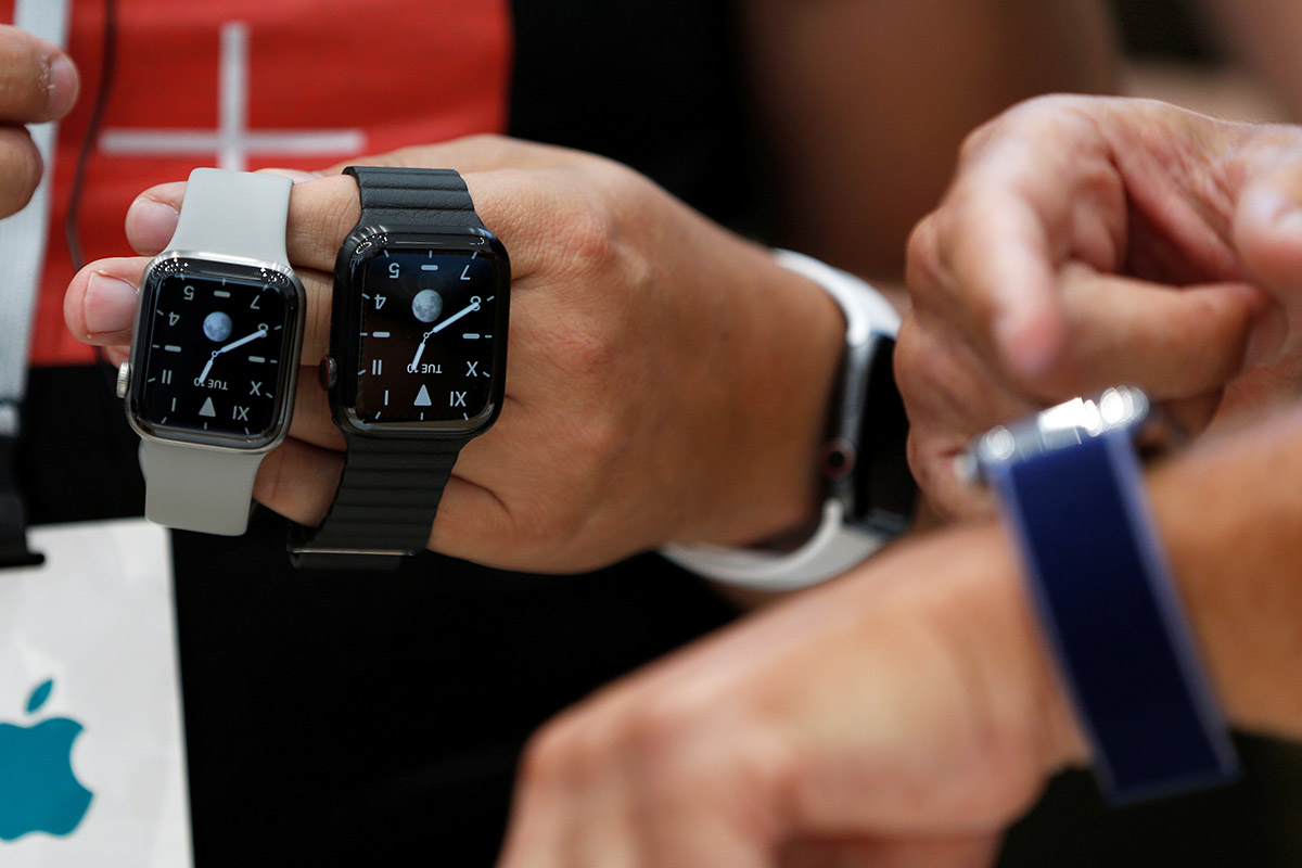 Apple a dépassé l'industrie horlogère suisse